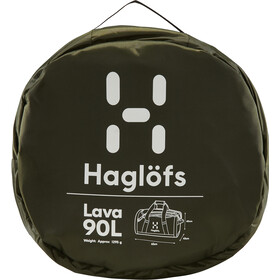 Haglöfs Lava 90 Duffel Bag, deep woods/rosin